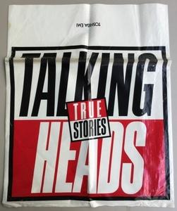【RB2】特製レコード袋 トーキング・ヘッズ/ヒューイ・ルイス&ザ・ニュース /Talking Heads Huey Lewis & The News