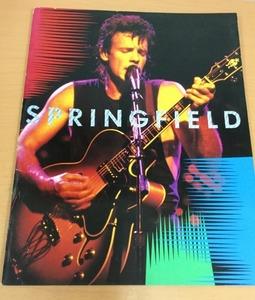 【CP8】Rick Springfield リック・スプリングフィールド 1986 ツアーパンフレット