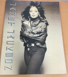 【CP6】Janet Jackson ジャネット・ジャクソン/リズムネイション ツアーパンフレット/Rhythm Nation