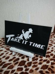 矢沢永吉 TAKE IT TIME ラミネート