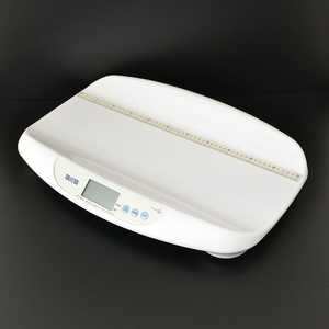 0397846 TANITAtanita детские весы BD-586-WH весы рост наклейка передний раз цена отображать кормление количество. управление белый