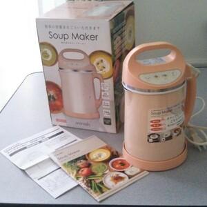 【未使用】スープメーカー / ドウシシャ minish  DSM-138PK