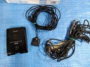 [値下げ] ★1200円即決!DENSO デンソー 12V/24V アンテナ分離型 音声タイプ DIU-5300A ETC車載器 up 通電確認済み3