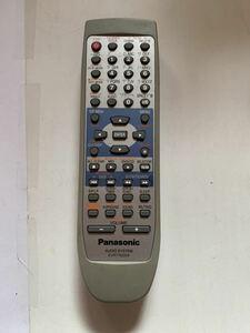 【中古品・電池蓋欠損・赤外線動作確認済】EUR7702250 オーディオシステム リモコン Panasonic パナソニック