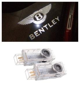 NEW 高性能 Bentley ベントレー HD ロゴ カーテシランプ LED プロジェクター コンチネンタル GT フライング スパー 純正交換 ドア A419