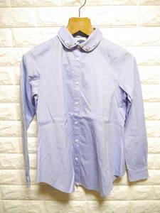 A200 ◇ KUMIKYOKU | クミキョク 長袖シャツ 青 中古 サイズ1