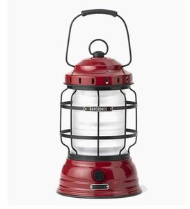 ベアボーンズ フォレストランタン 赤 LED アンティーク レトロ キャンプ