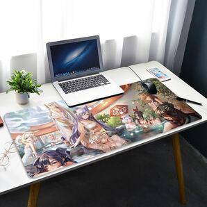 原神 Genshin マウスパッド プレイマット 大型 入浴図 中国限定美品