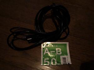 エレコム USB2.0 A-B 有線ケーブル 5.0メートル EPSON PX-049A プリンター用