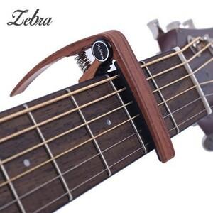 U1233:アルミ合金 ギター カポ用 6弦 アコースティック クラシック エレクトリック チューナー クランプ キー 楽器 アクセサリー
