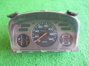 ◆保証付◆ サンバー KS4 ◆ スピードメーター ◆H2年/走行距離:55658㎞/宮城【M3628 2F Bサイズ】に