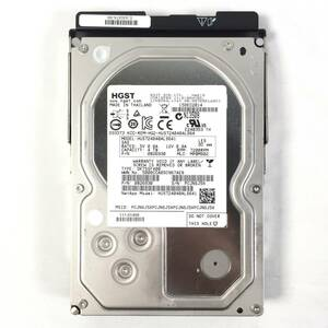 S372461 HGST 4TB SAS 7.2K HDD 3.5 -inch 1 point [ used operation goods, several exhibition 9]