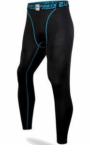スポーツタイツ メンズ ロング アンダーウェア コンプレッション UVカット 吸汗速乾 スポーツタイツ