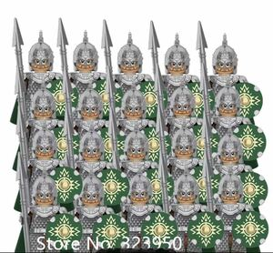 レゴ風 レゴ互換 ナイト18体セット新品