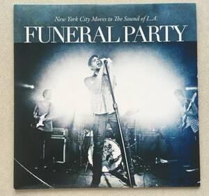 即決!未使用品!Funeral Party「New York City Moves to the Sound of L.A.」7インチレコード