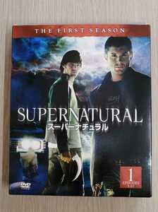 【セル版】「SUPERNATURAL スーパーナチュラル ファースト セット1〈5枚組〉」DVD〈ファーストシーズン 1話~11話〉【即決送料込み】