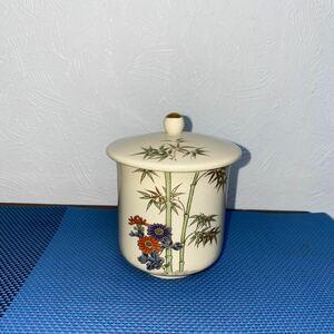 茶器 蓋付き 薩摩焼