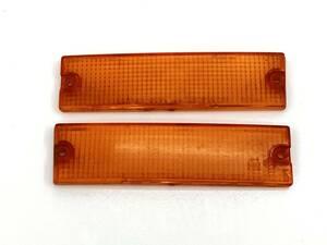 _b61180 マツダ サバンナRX-7 E-FC3S ウィンカー レンズ ライト ランプ 左右 LH RH STANLEY 041-0588