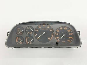 _b61180 マツダ サバンナRX-7 E-FC3S スピードメーター タコ (2) 139263km FD8 F061A FC3C