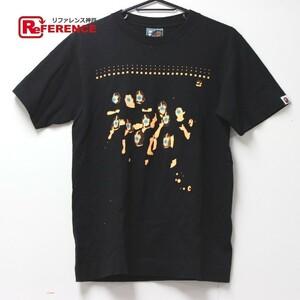 美品 A BATHING APE アベイシングエイプ トップス アパレル 服 カットソー プリント 半袖Tシャツ コットン S メンズ