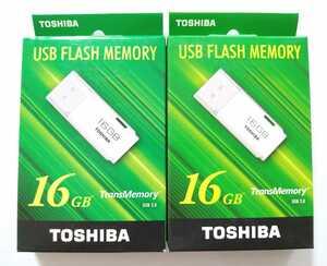 送料無料★東芝 USBフラッシュメモリ 16GB 2箱 メモリスティック メモリースティック TOSHIBA TransMemory USBメモリー TNU-A016G USB2.0