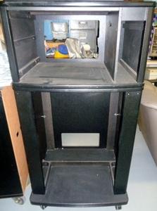キャビネット AV台 カラオケボックスにあるようなAV台 ボード 収納