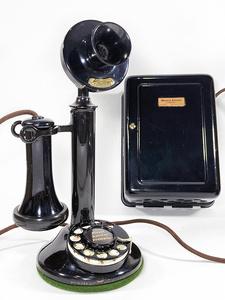 -実働品- 1910's USA アンティーク 電話機/バー/店舗什器/ランプ/ビンテージ/デスク/o.c.white/gras/黒電話/映画/rrl/古着/sweet orr/照明