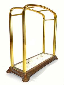 1930年代ドイツ製 アルミ 傘立て/モダン/アンティーク/バウハウス/店舗什器/椅子/デスク/チェア/インダストリアル/ビンテージ/ランプ/照明