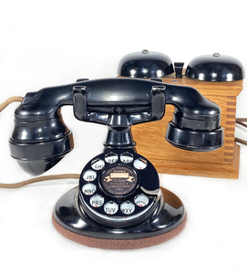 -実働品- 1920's USA アンティーク 電話機/家具/店舗什器/ランプ/ビンテージ/デスク/o.c.white/gras/黒電話/映画/rrl/古着/sweet orr/照明