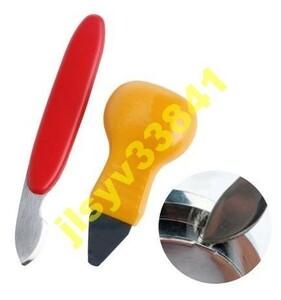 Yd001:腕時計 裏蓋外し こじ開け オープナー 修理 工具 電池交換 ドライバー2種セット