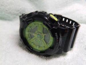 可動・中古品・タイ国製・カシオ男性腕時計・G-SHOCK GA-110B