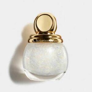 【Dior ネイルエナメル】ディオリフィックグリッタートップコート 001
