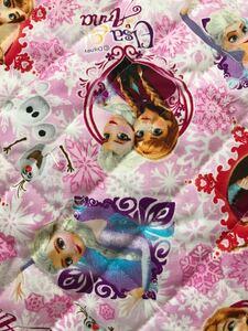 アナと雪の女王 オックスキルト  端切れ ディズニー 108×32センチ