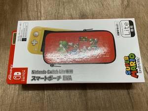 Nintendo Switch Lite専用 スイッチライト用 スマートポーチ EVA スーパーマリオ ヤマト60サイズ発送 未使用品[C-510]