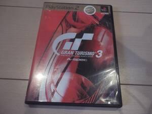 グランツーリスモ3 A-spec 起動確認済み PS2