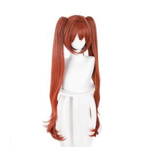 ウマ娘 プリティーダービー ダイワスカーレット 風 ウィッグ 高温耐熱 カツラ 耐熱ウィッグ cosplay wig 仮装 変装用 コスプレ コスチ