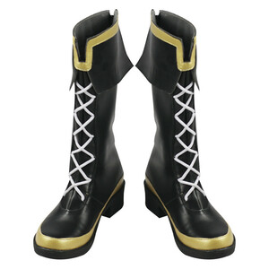 ウマ娘 プリティーダービー メジロマックイーン 風 cosplay靴 コスプレ靴 シューズ ブーツ ホビー コスプレ・仮装 コスチューム