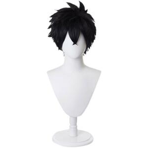怪物事変 けものじへん 日下夏羽 くさかかばね 風 コスプレウィッグ 耐熱 かつら 仮装 変装 ウィッグ 変装 仮装 cosplay wig
