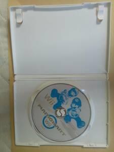 Wii マリオカートwii ディスクのみ傷多数動作確認済み送料無料即決
