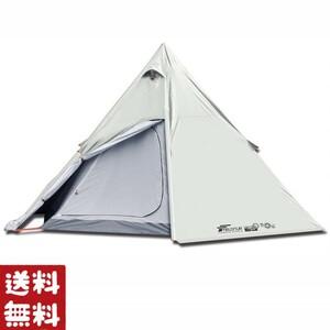 【最大4人用】ワンポールテント インナー フライ 二重層 ソロ キャンプ 3人用 2人用 ツーリング 釣り アウトドア