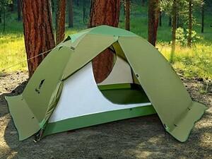 【コスパ良し】スカート付き 2人用 テント ツーリング ソロ キャンプ ソロキャン 軽量 簡単設営 コンパクト アウトドア