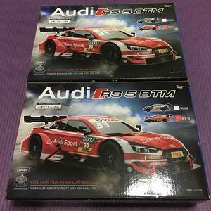 送料 710円 新品 未使用 未開封 即決 明日発送可 Audi RS5 DTM アウディ レッド RED ラジコン ラジコンカー スポーツカー 2個セット 複数可
