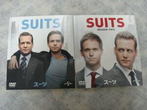 DVD スーツ SUITS シーズン1 シーズン2 バリューパック