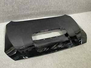 8443 美品/変形凹凸なし WRX STI/S4 VAB/VAG / レヴォーグ VM4 純正 ボンネット フードパネル 57229VA0009P 黒/クリスタルブラック D4S