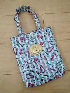 美品 mimo トートバッグ バック かばん レディース 女の子 女性 ミニバック リュック ショルダーバッグ エコバッグ