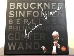 ブルックナー 交響曲第4,5,7,8,9番、 G・ヴァント&ベルリンフィルハーモニー 6CD