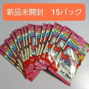 アミーボ とびだせ どうぶつの森 amiiboカード サンリオキャラクターズコラボ 15パック 新品未開封