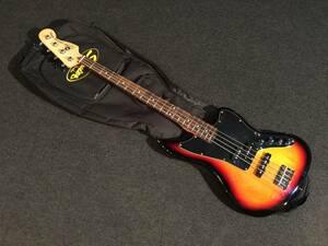 生産完了!レア!綺麗!Fender Squier V/M JG BASS 3TS/R No.041621