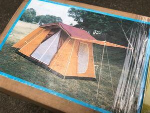 【未開封・未使用】レトロロッジテント(フィールドチャンプ)鉄骨テント プリンちゃん