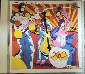 J10日本盤貴重/送料無料■XTC「オレンジズ&レモンズ(Oranges&Lemons)」CD(VJCP-3115)歌詞、対訳、解説付き。